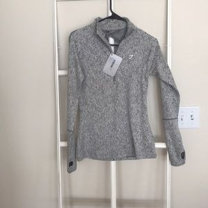 Gymshark fleur texture pullover NWT size small